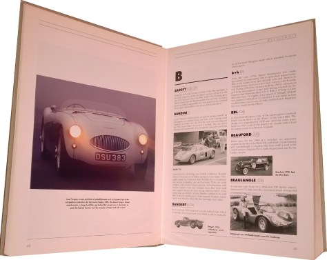 A-Z of Sports Cars, typical pages