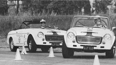 Bob Bondurant - Early Cars of his driving school