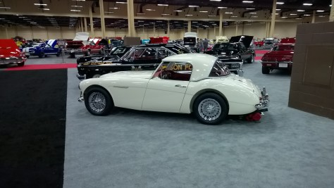 1961 Austin Healey 3000 Mark 1 BT7 Roadster, Barrett Jackson, Las Vegas