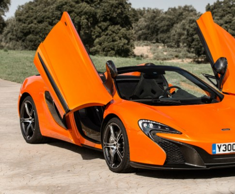 Don't Miss the 2015 McLaren 650S