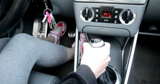 Driving a Stick Shift