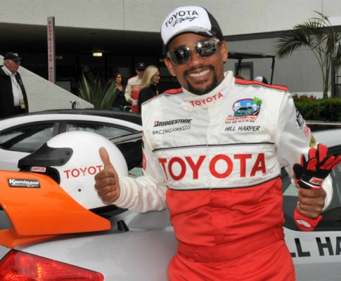 Toyota Celebrity Race Hits Long Beach