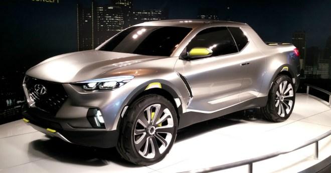 Hyundai Santa Cruz Concept Truck