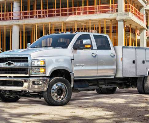 An Upfitted Silverado for Your Fleet