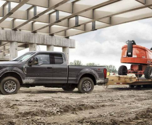 Ford Offers More Commercial Trucks for the Big Jobs