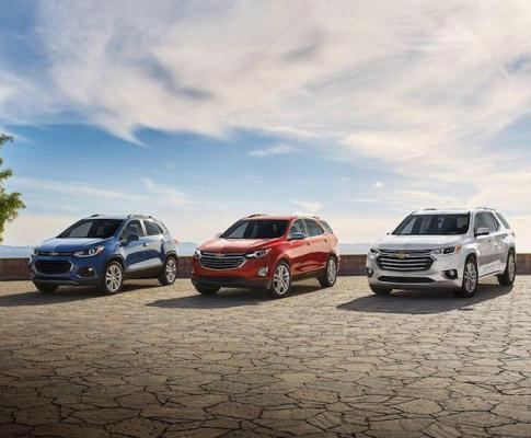 The Six SUVs of Chevrolet