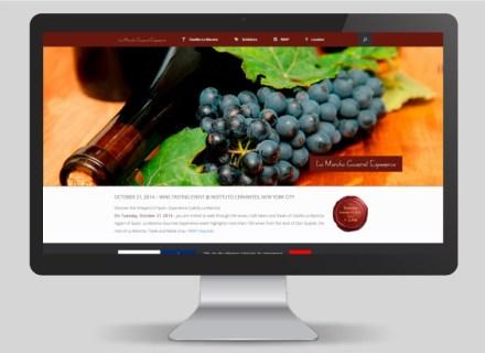 Web La Mancha Gourmet Experience