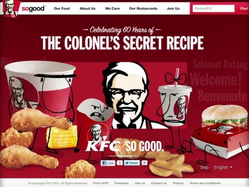 GreenP campaign KFC microsite