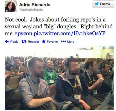 Social Shaming: Adria Richards Tweet