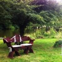 Conny und Robert - Trauung im Schlosspark Thammenhain