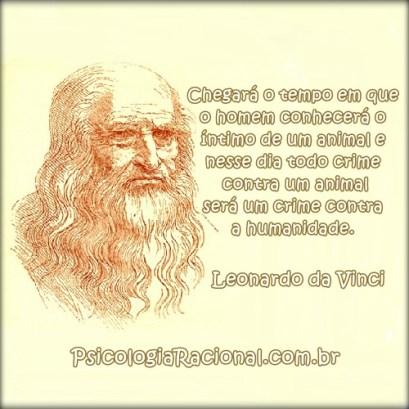 Leonardo da Vinci crime contra os animais crime contra a humanidade