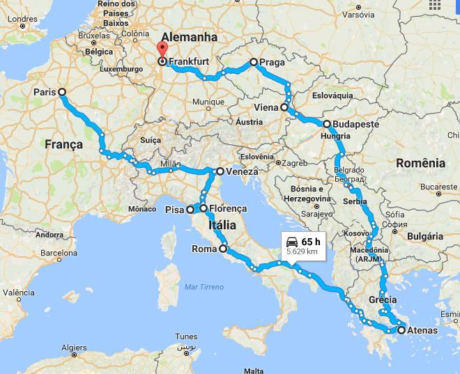 Um roteiro de 40 dias viajando bem barato pela Europa