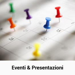 Eventi e Presentazioni