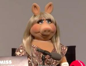 Miss Piggy tells it like it is