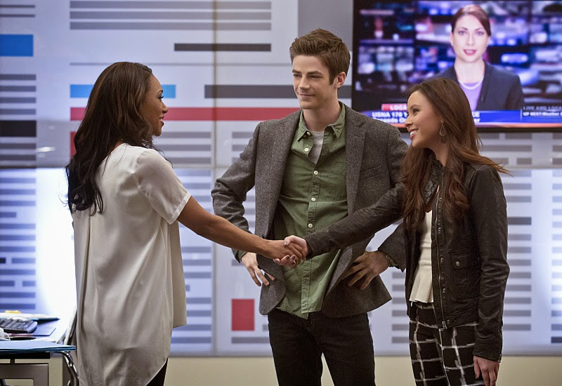 "Flash Barry And Caitlin Barry Allen on ""the Flash"""