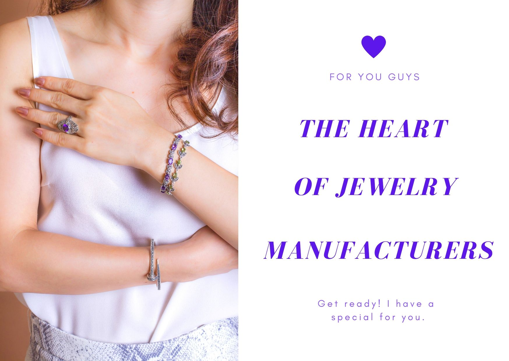 The heart of Jewelry Manufacturers for Wholesale.