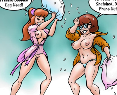 scooby doo hex girls dusk