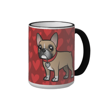 Masked Fawn French Bulldog Mug