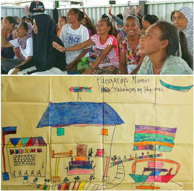 Active Bajau mothers validate through words and art that education indeed is among their top priorities.
