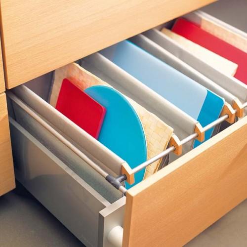 nápady na organizaci zásuvek v kuchyni (21)