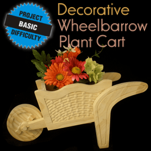 Wheelbarrow Plant Cart