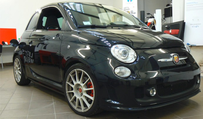 wrapping 500 Abarth