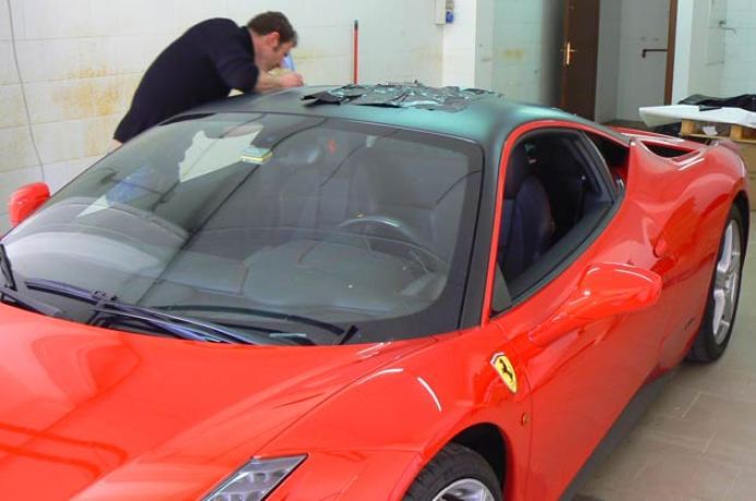 car wrapping 458 italia