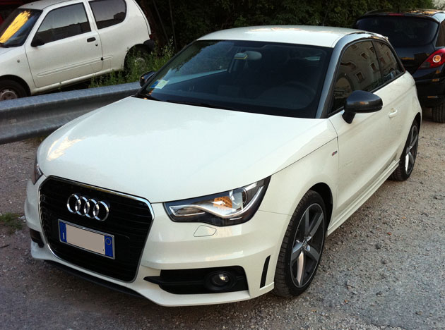 wrapping su audi a1 by carwraproma