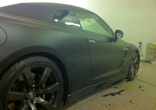 wrapping gtr nero opaco 3M 01