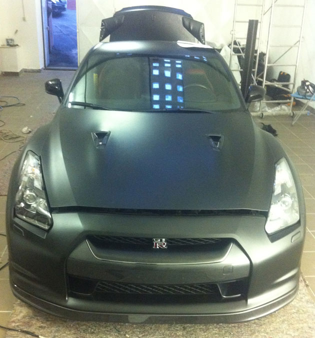 wrapping gtr nero opaco 3M 06