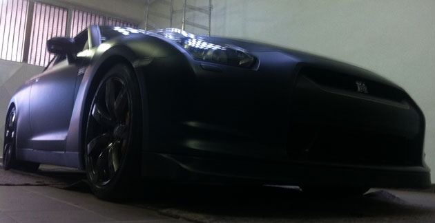wrapping gtr nero opaco 3M 10