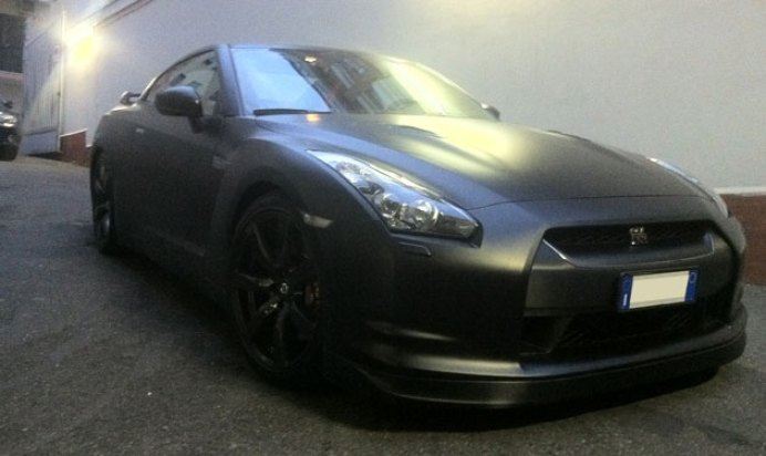 wrapping gtr nero opaco 3M 20
