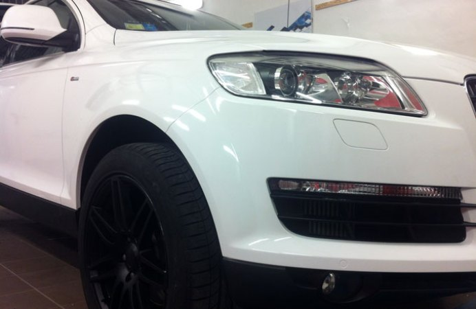 wrapping Q7 18
