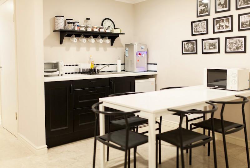 Casa Caesarea Lower Level Kitchen