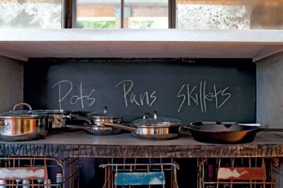 Casa Basics: The Power of Chalkboard Backsplashes