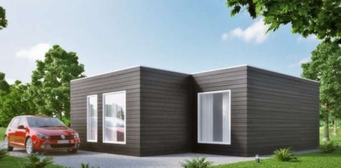Casa prefabricada moderna modelo m02 627 233 751 - Presupuesto casas prefabricadas ...