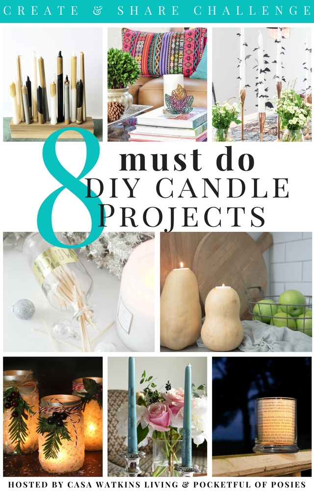 Need to make all of these DIY candle projects!