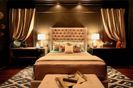 jason dallas design dark y gold red bedroom ?1413403399