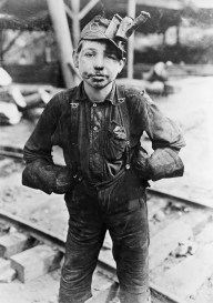 Boy Working at a Mine