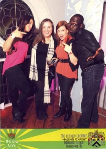 @MakeupDavida, @wedding_crasher, @jamieleighTO and myself.