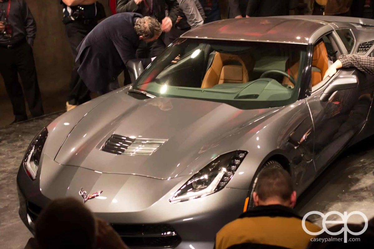 The 2014 Corvette Stingray