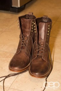 A pair of boots I bought from Cole Haan