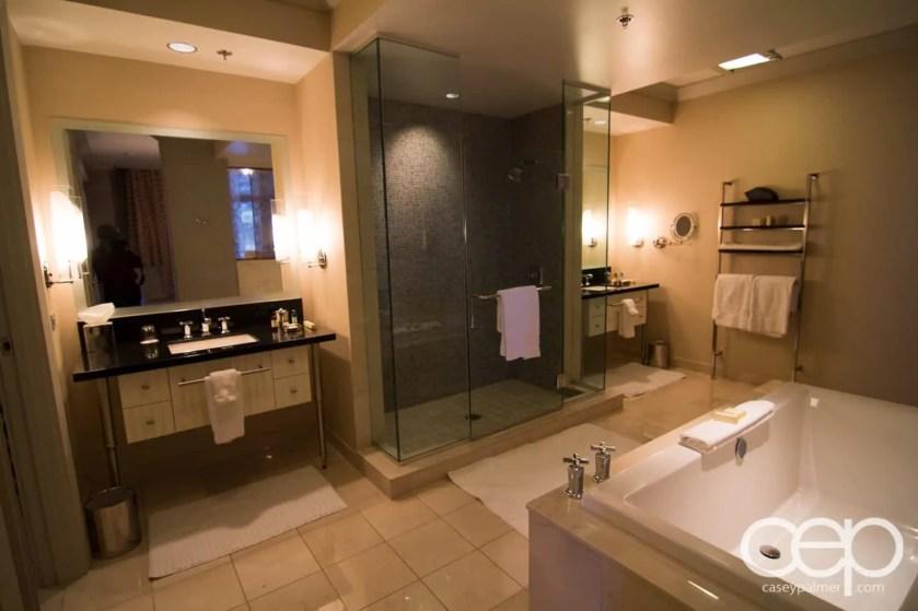 The cosmopolitan wraparound terrace suite master for Terrace suite cosmopolitan