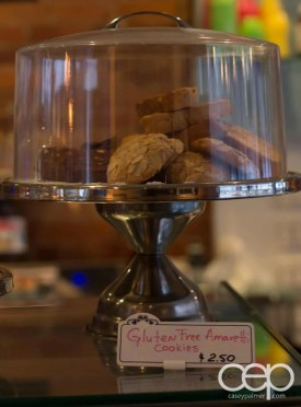 G... for Gelato and Espresso Bar — Gluten-Free Amaretto Cookies