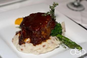 The Smokey Beef Short Rib at The Martini House in Burlington, ON