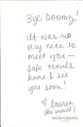 BiSC and Las Vegas 2013 — Goodbye Note from Lauren
