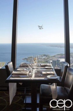 CN Tower — 360 - The Restaurant at the CN Tower — Table Setting
