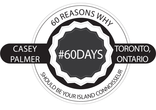 60 Days In Paradise — 60 Reasons Why Casey Palmer Should Be Your Island Connoisseur Logo
