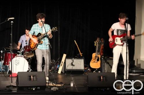 Royal Ontario Museum — FNLROM May 25 2012 — Band Playing at FNLROM