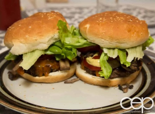 #DIYSandwich — Quick and Easy Summer Burger — Finished Products